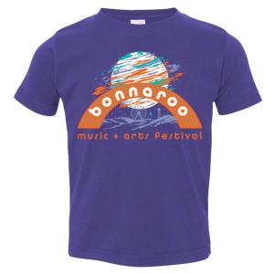 Bonnaroo 2017 Moon Youth Tee - Purple