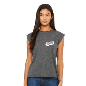 Superfly Flowy Ladies Muscle Tee