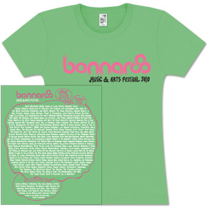 Bonnaroo 2010 Main Event Women's Tee