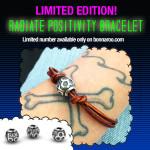 Bonnaroo 2014 Radiate Positivity Bracelet