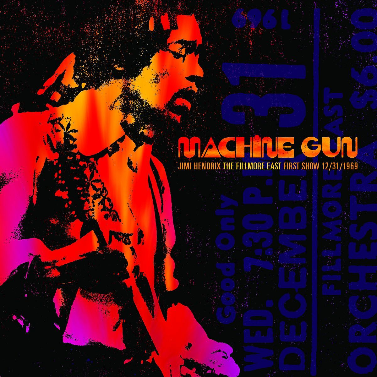 Machine Gun: Jimi Hendrix, The Fillmore East First Show CD