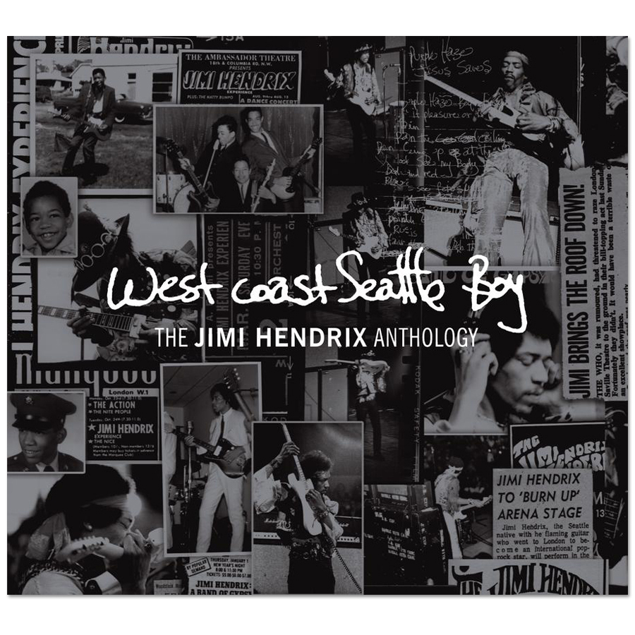 West Coast Seattle Boy: The Jimi Hendrix Anthology (Deluxe Edition) CD