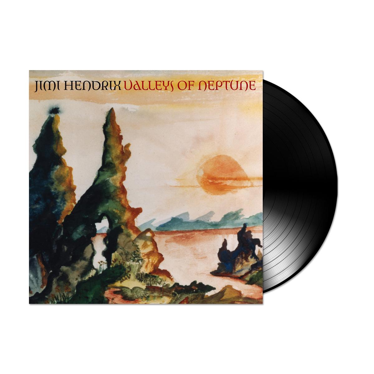 "Jimi Hendrix: Valleys Of Neptune - 7"" Vinyl Single All Analog"