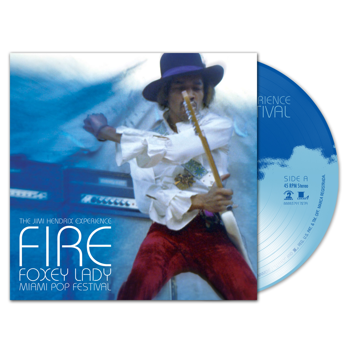 Fire/Foxey Lady 7 Inch