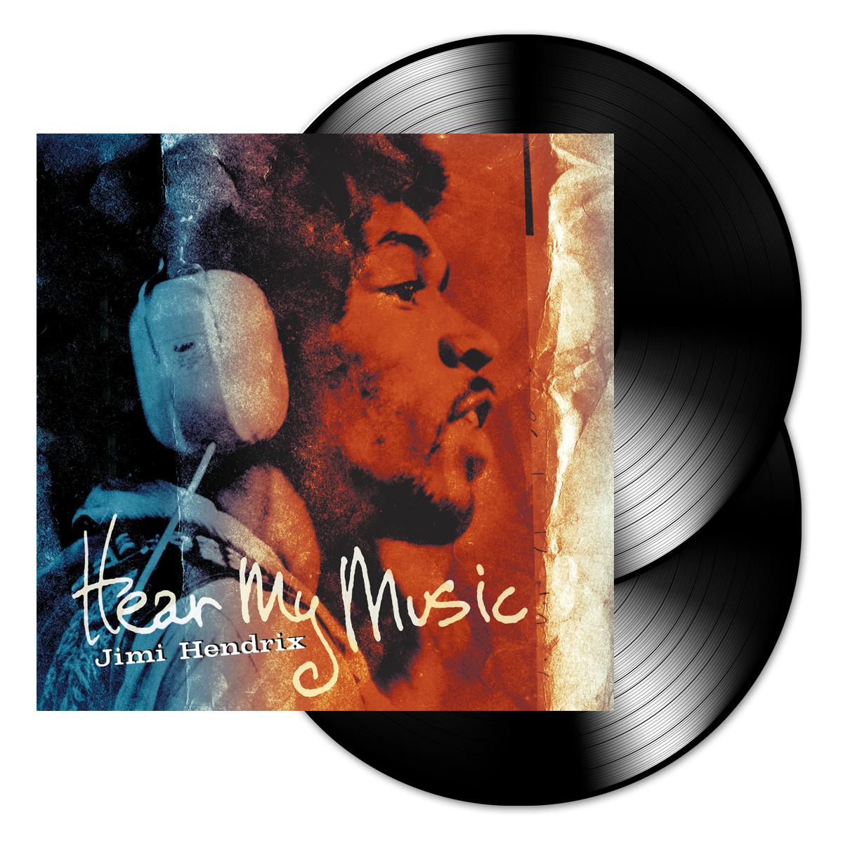 Jimi Hendrix: Hear My Music 2 Disc LP