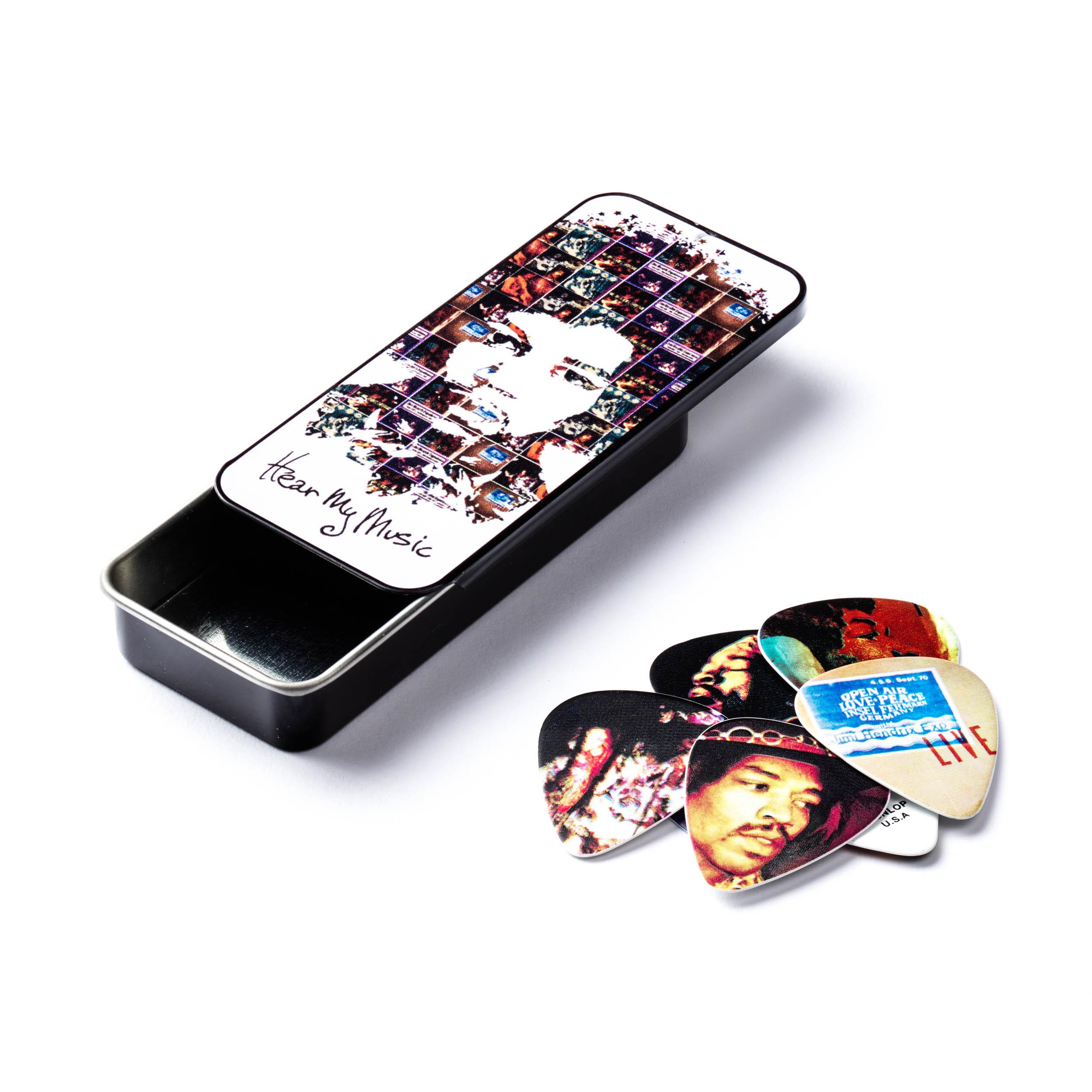 Jimi Hendrix™Hear My Music Pick Tin