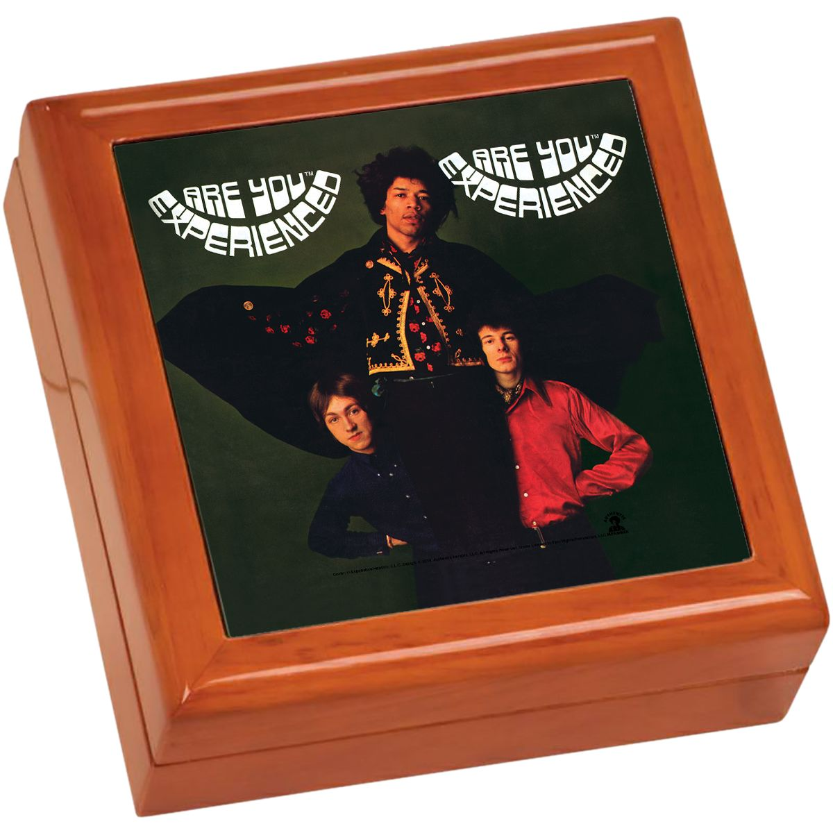 Are You Experienced UK Wooden Keepsake Box