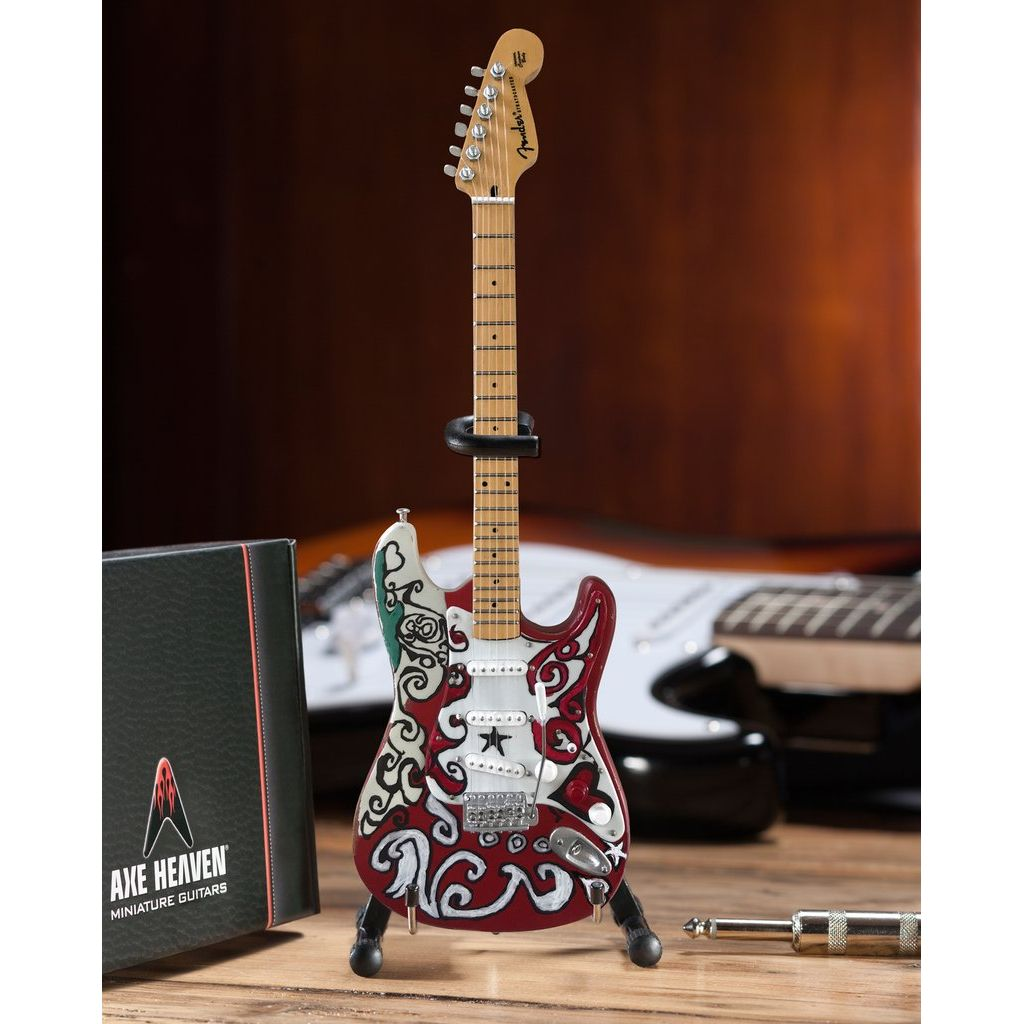 Officially Licensed Jimi Hendrix Mini Fender™ Strat™ Saville Guitar Model