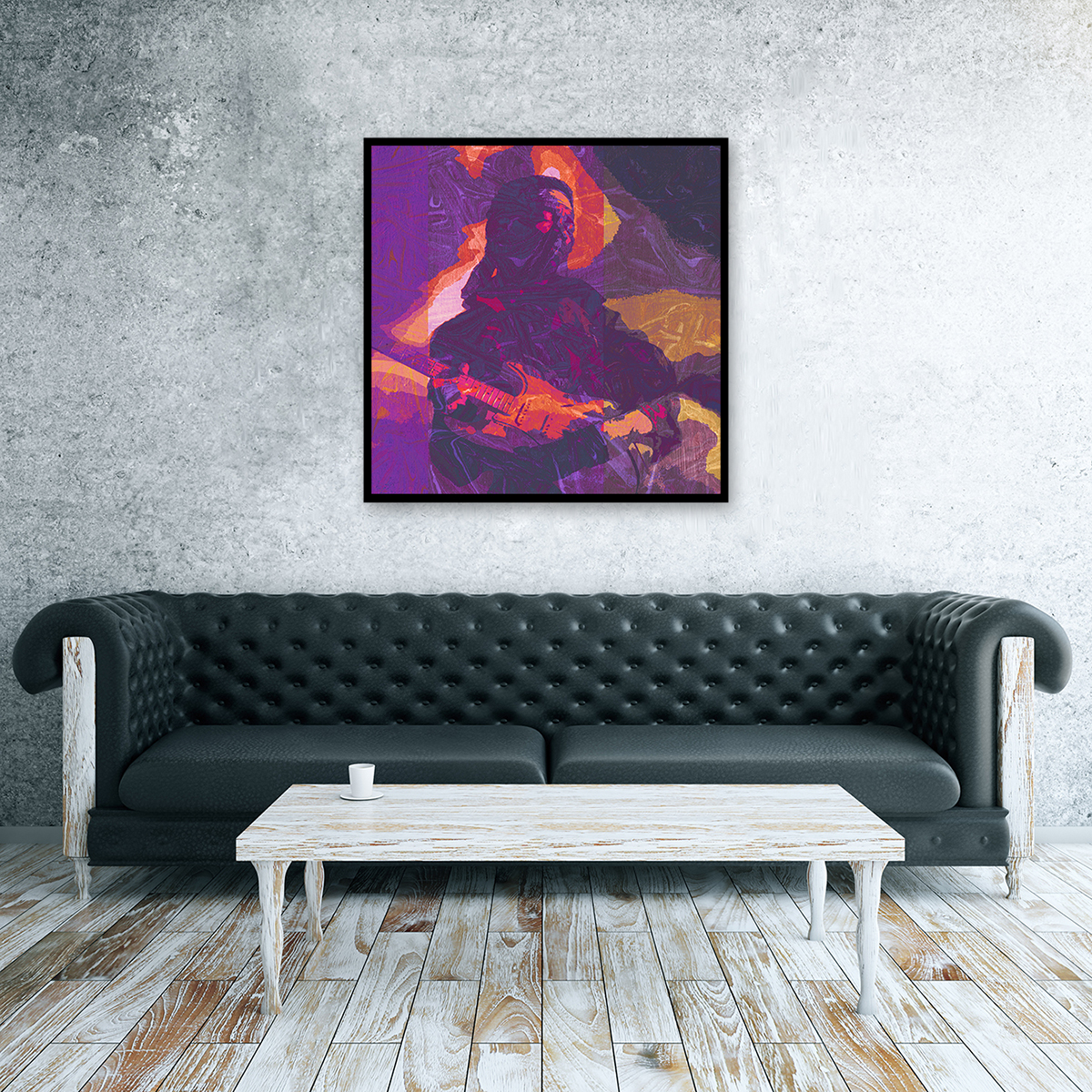 Purple Haze Canvas Wall Art