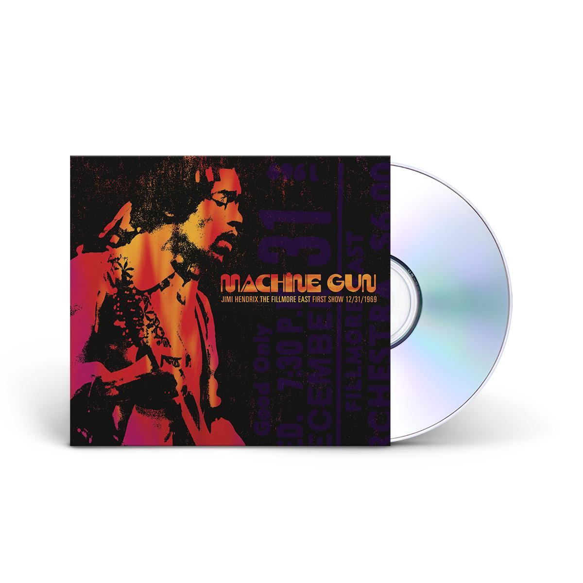 Machine Gun Jimi Hendrix The Fillmore East 12/31/1969 (First Show) CD