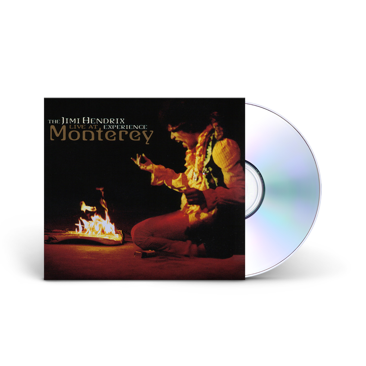 The Jimi Hendrix Experience: Live at Monterey CD