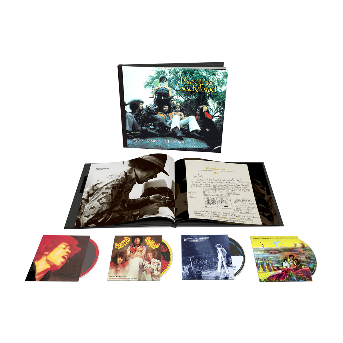 Jimi Hendrix Experience: Electric Ladyland – 50th Anniversary Deluxe Edition CD Box Set