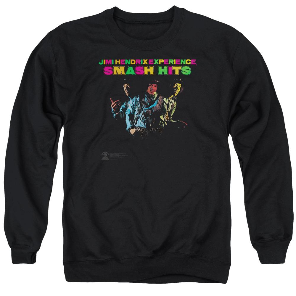 Jimi Hendrix Smash Hits Crewneck Sweatshirt