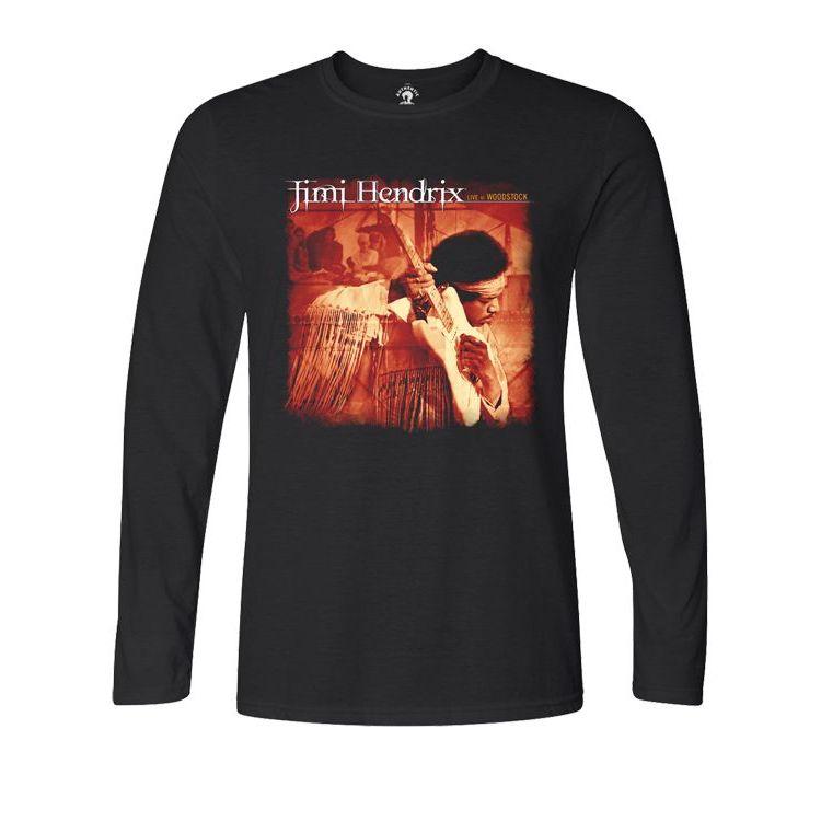 Jimi Hendrix Live at Woodstock Longsleeve T-shirt