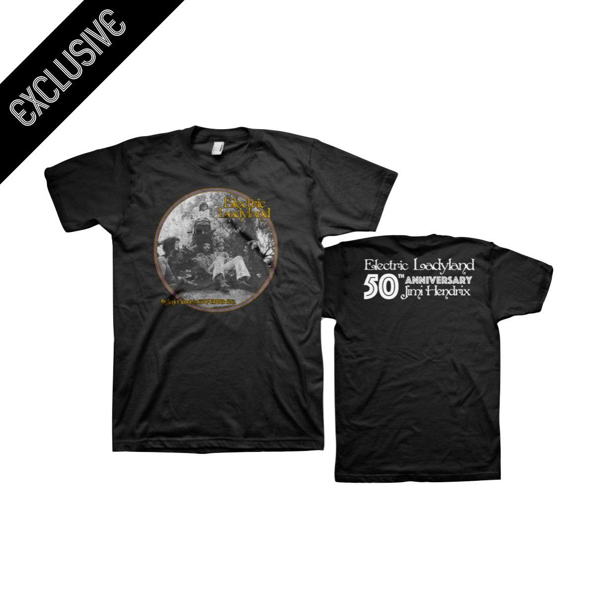 Jimi Hendrix Experience - Electric Ladyland 50th Anniversary T-shirt