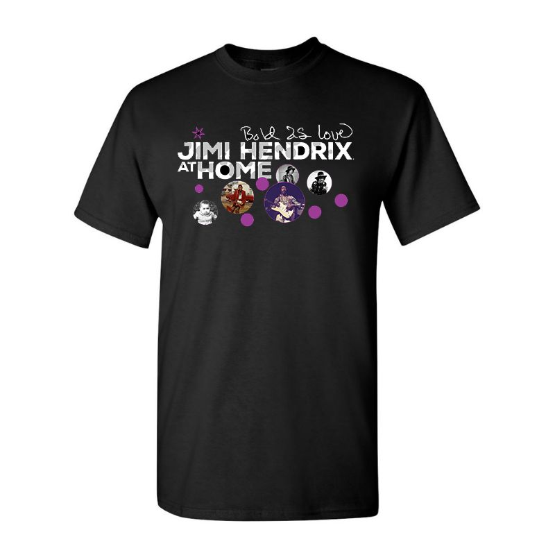 BOLD AS LOVE: JIMI HENDRIX AT HOME T-SHIRT