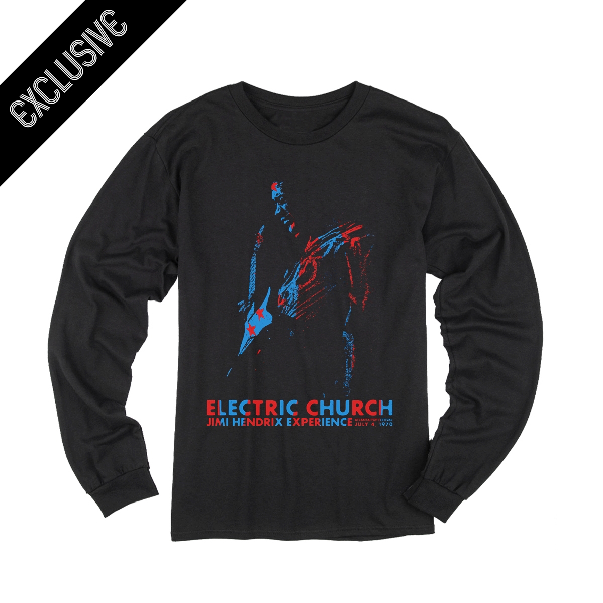 Electric Church Limited Edition Longsleeve T-shirt