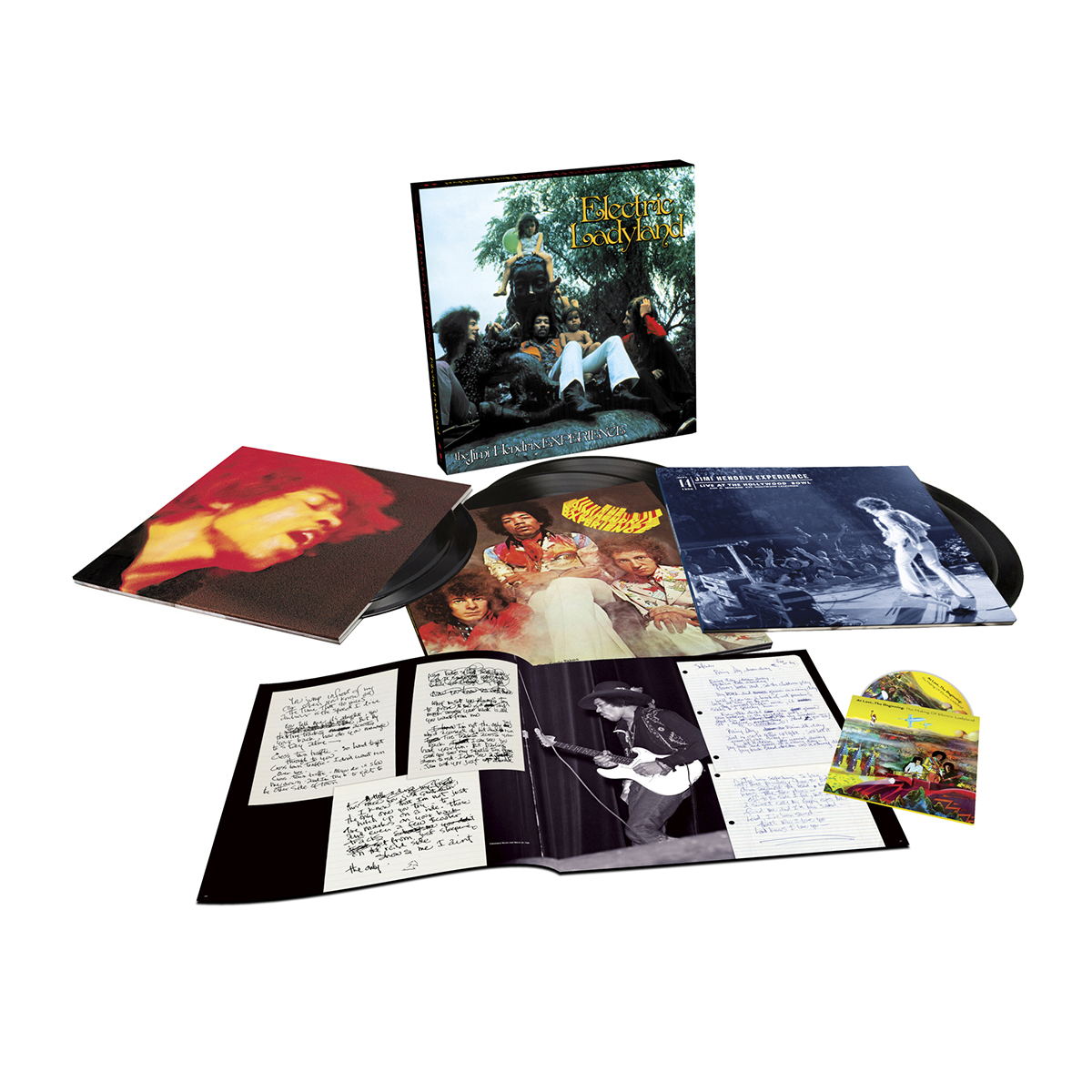 Jimi Hendrix Experience: Electric Ladyland – 50th Anniversary Deluxe Edition LP Box Set
