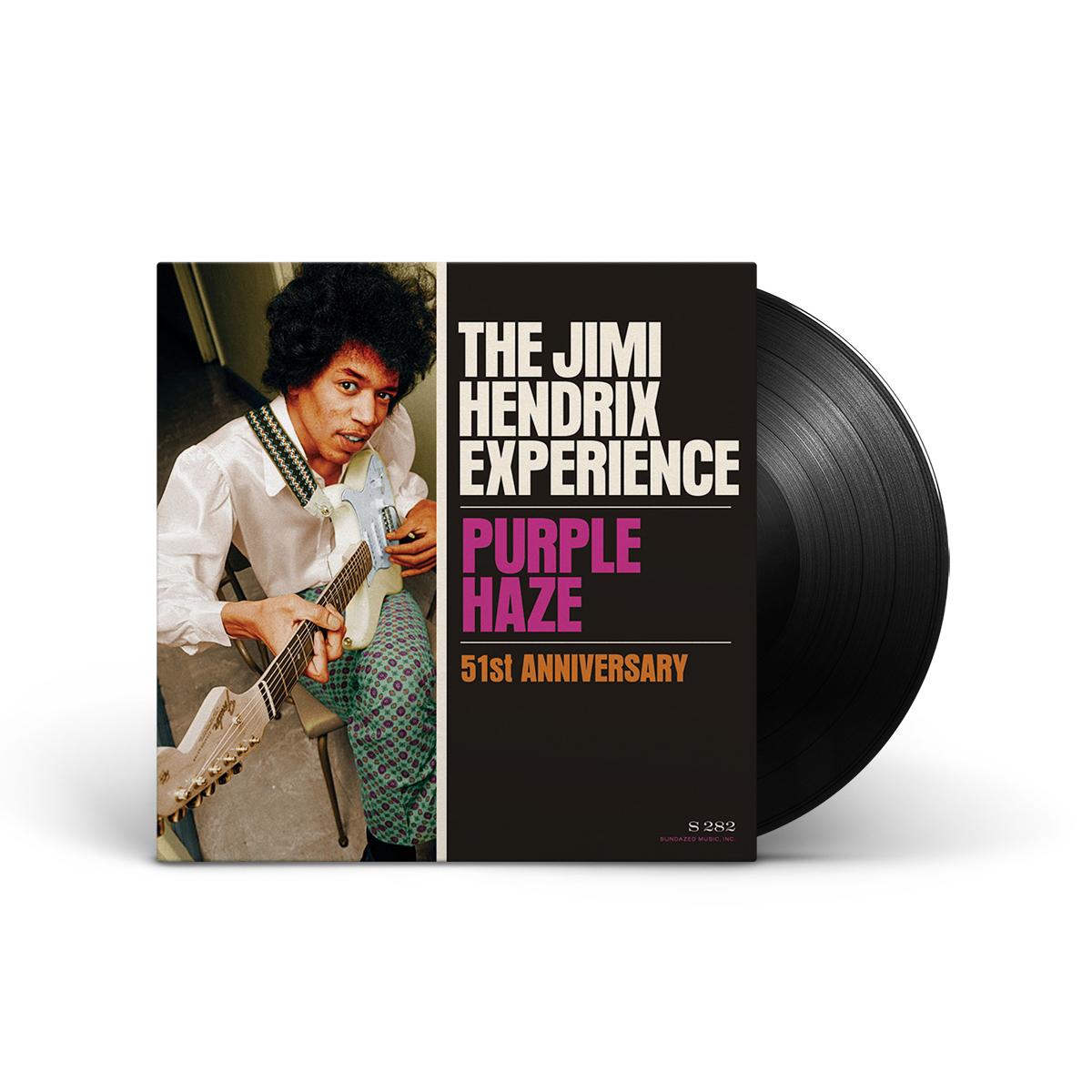 "Jimi Hendrix - Purple Haze/51st Anniversary 7"" LP"