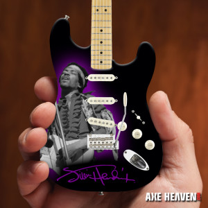 Jimi Hendrix Mini Fender™ Strat™ Monterey Guitar Model
