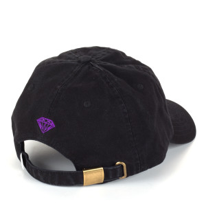 Diamond Supply Co. Purple Haze Dad Hat in Black