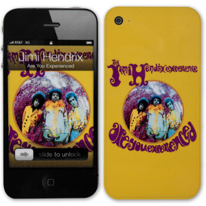 Jimi Hendrix Are You Experienced iPod Touch (4th Gen) Skin