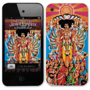 Jimi Hendrix Axis Bold As Love iPod Touch (4th Gen) Skin