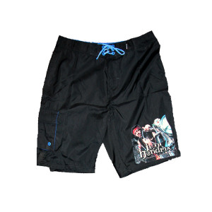 South Saturn Delta Black Board Shorts
