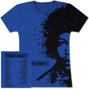 Experience Hendrix 2014 Tour Ladies Portrait T-Shirt