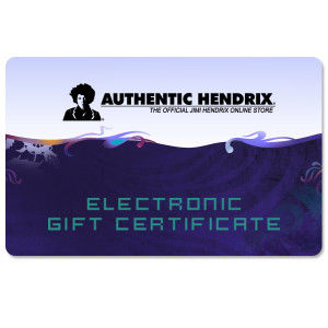 Authentic Hendrix Electronic Gift Certificate