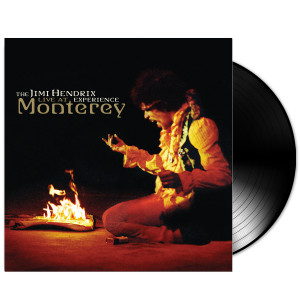 The Jimi Hendrix Experience: Live at Monterey LP