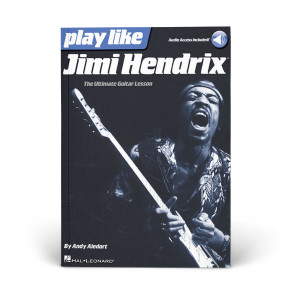 Play Like Jimi Hendrix - Book/Audio