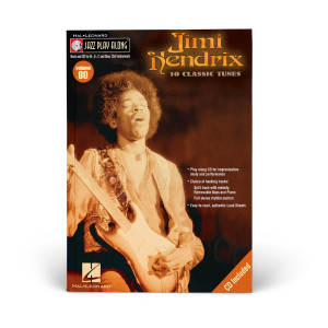Jimi Hendrix Jazz Play-Along Volume 80 Bk/CD