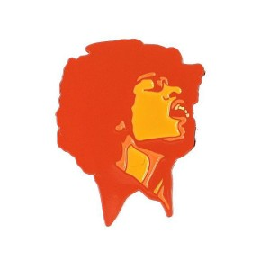 Jimi Hendrix Electric Ladyland Enamel Pin