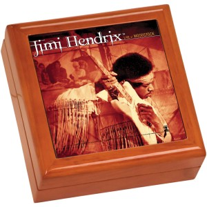 Live At Woodstock Wooden Keepsake Box