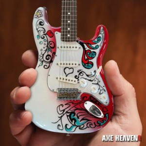 Officially Licensed Jimi Hendrix Mini Fender™ Strat™ Monterey Guitar Model