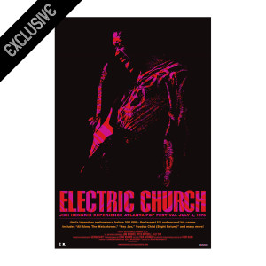 Electric Church Limited Edition Movie Poster