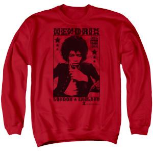Jimi Hendrix London 1966 Crewneck Sweatshirt