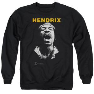 Jimi Hendrix Listen Crewneck Sweatshirt