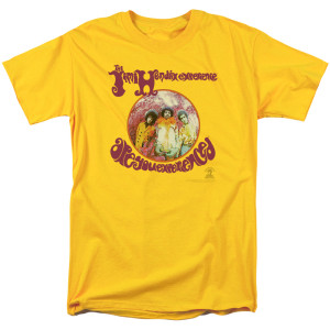 Jimi Hendrix Are You Experienced Yellow T-Shirt