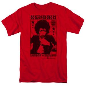 Jimi Hendrix London 1966 T-Shirt