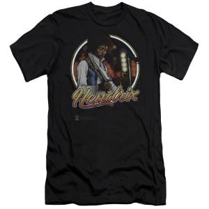 Jimi Hendrix Hollywood Bowl Premium Canvas T-shirt