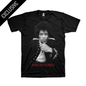 Hendrix Red Photo T-Shirt