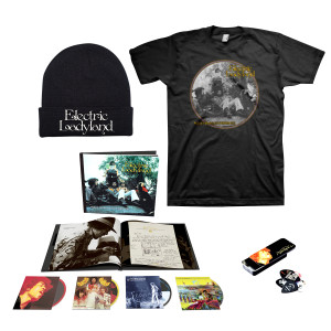 Jimi Hendrix Experience: Electric Ladyland – 50th Anniversary Deluxe Edition CD Box Set with Exclusive Merchandise