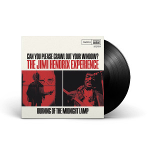 """Jimi Hendrix - Can You Please Crawl Out Your Window?/Burning of the Midnight Lamp 7"""" LP"""