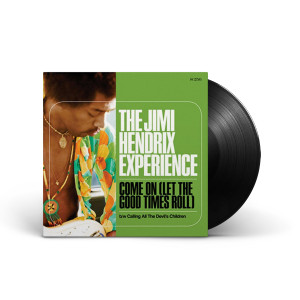 """Jimi Hendrix - Come On (Let the Good Times Roll)/Calling All the Devil's Children 7"""" LP"""