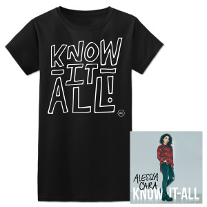 Know-It-All Signed CD + T-Shirt