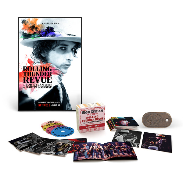 The Rolling Thunder Revue: The 1975 Live Recordings 14-CD