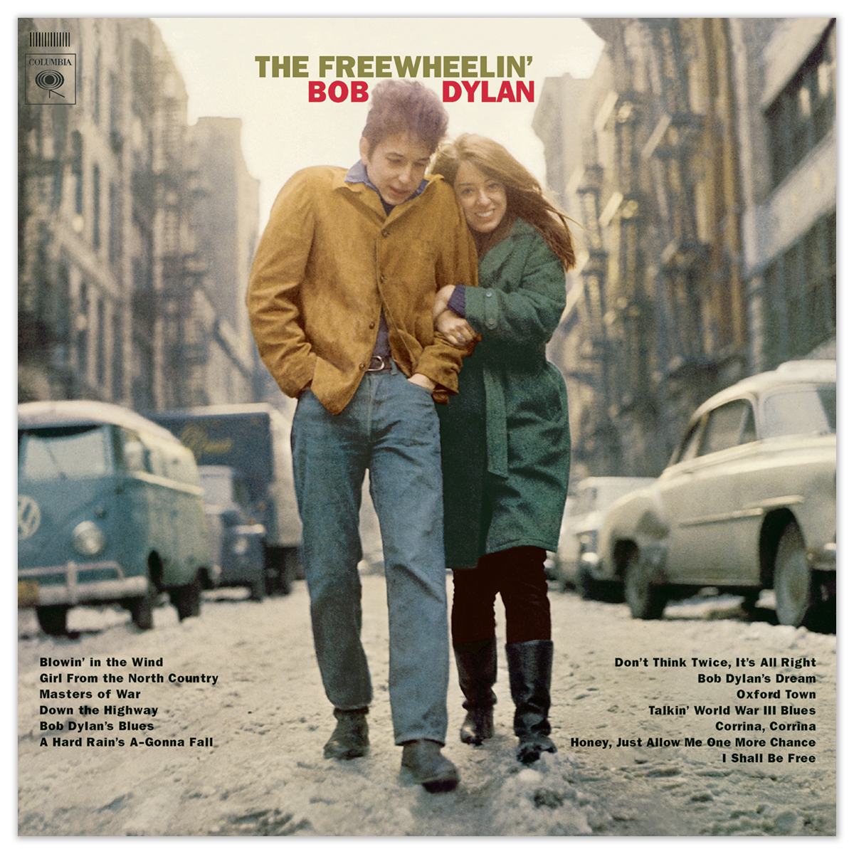 The Freewheelin' Bob Dylan LP