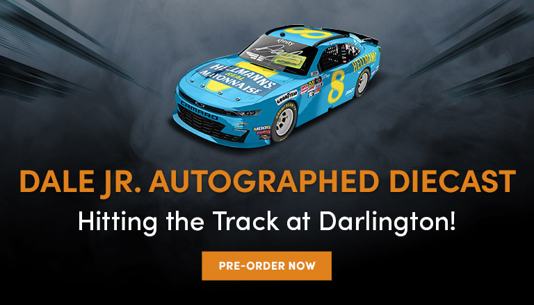 Autographed Hellman's Diecast